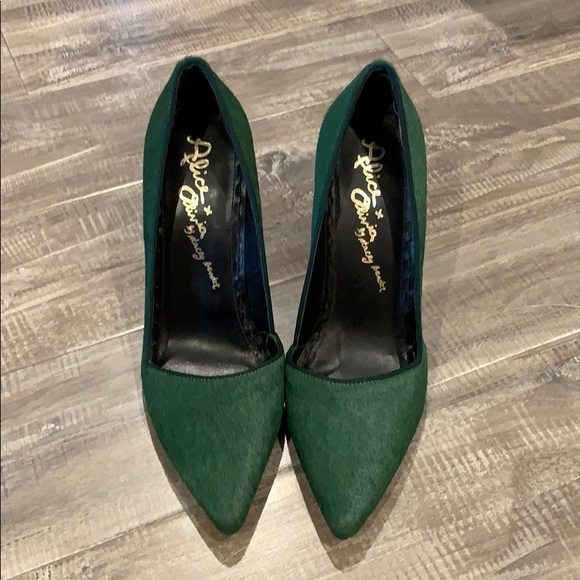 Alice + Olivia Shoes - Alice and Olivia ✨NWOT✨Pony Hair Pump